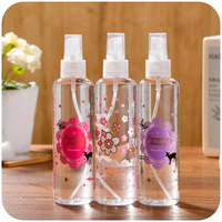 2015 180ml refillable PET water mist spray bottle perfume atomizer for fragrances Points bottling skin care cosmetic use
