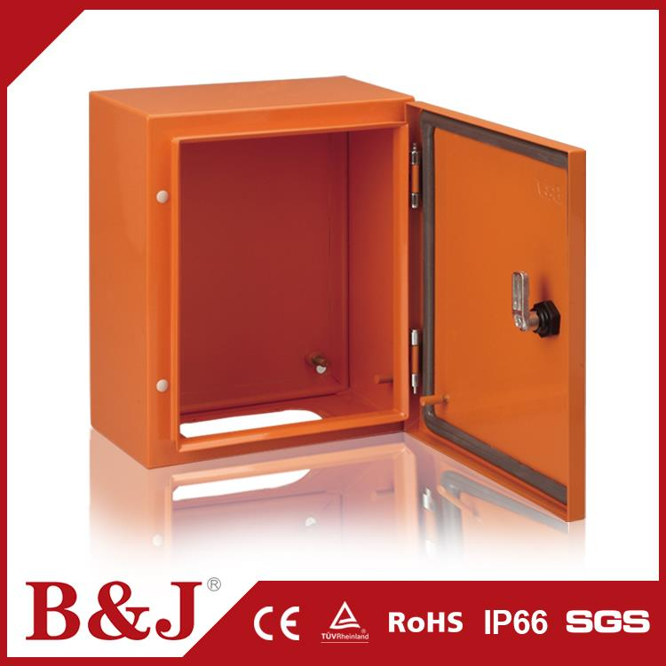 B&J Newest Products Sheet Steel RAL2000 IP66 Waterproof Meter Box