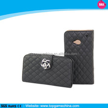 Book style leather case for mobile phone HTC one m7 ,free sample offer