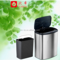 Home kitchen trash auto stainless steel waste can/GYT8-1A-Y