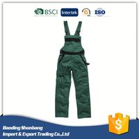 Specialized in uniforms low price sale outdoor overall workwear mechanic work bib cargo pants
