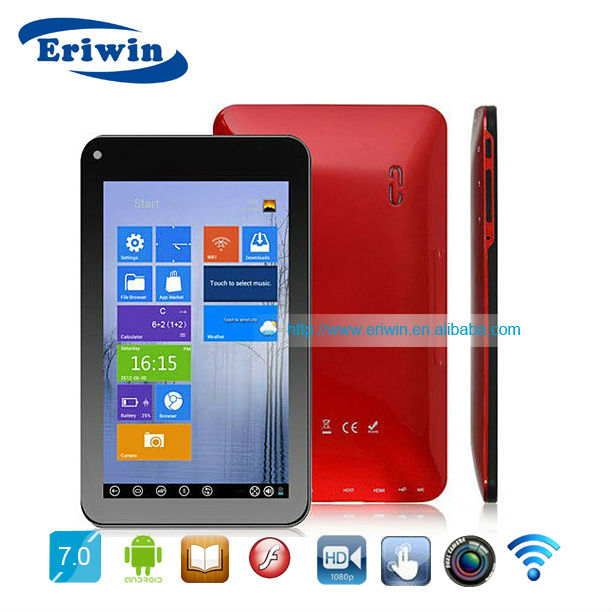 ZX-MD7005 Cheapest! 7 inch irobot android 2.2 tablet pc wm8850-mid tv tuner