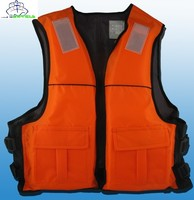 fishing life vest for safety at ship
