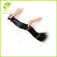 26'' inch black color adhesive tape for hair extensions