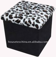 beautiful! leopard step stool