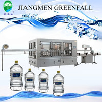 small carbonated drink filling machine 3-in-1 Automatic soft drink filling machine/equipment for PET/glass bottle (3-in-1)