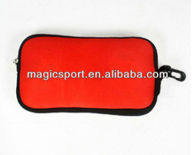 Neoprene mobile phon case with card pouch