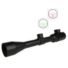 Hunting 3-9X40EG Rifle Scope Red Green Illuminated Riflescope with Extinction Tube Free 20MM/11MM Mount
