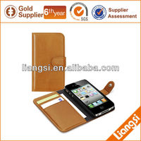 Folio Leather Pouch for mobile phone holder