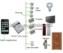 smart phone remote control home autoamtion
