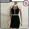 2017 wholesale price Fashion Sleeveless Fitted Roman cloth Dress For Ladies