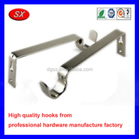 customized decorative metal hooks,stainless steel single metal font b bracket hook