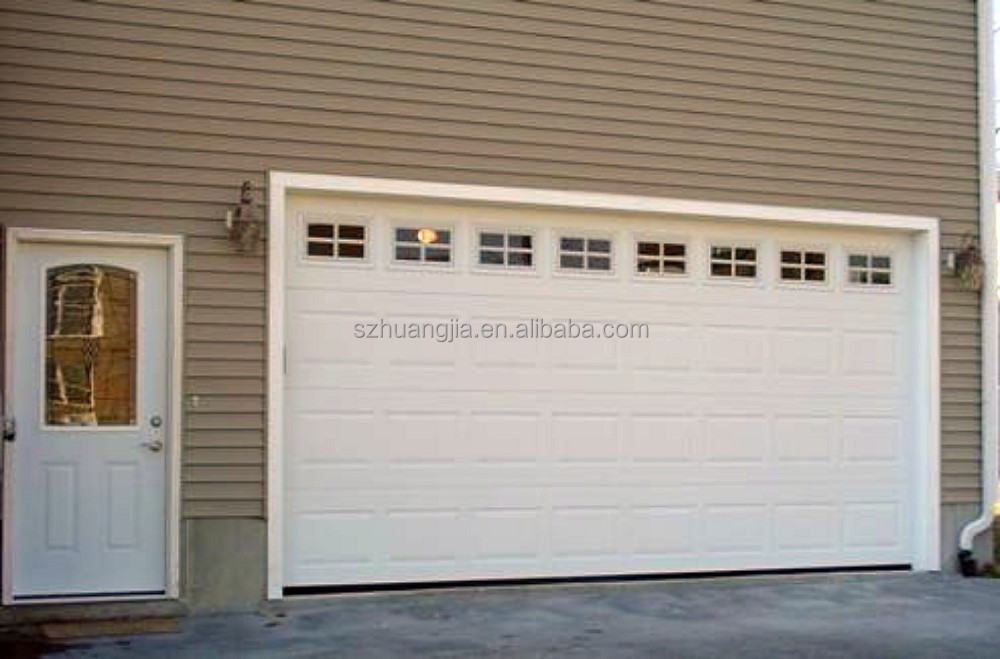 residential Low noise electric modern garage door window kit