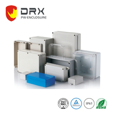 Sealed plastic electronics weather resistant box watertight enclosure