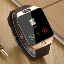 For Android <strong>W</strong>/ SIM/TF Card Slot &amp; Camera Bluetooth DZ09 Smart Watch Phone