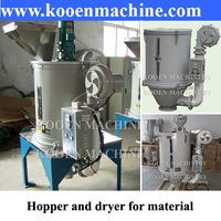 Plastic hopper dryer machine
