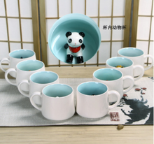 wholesale decorative 3d animal design ceramic mugs,ceramic cartoon mugs for kids