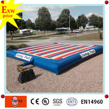 guangzhou aports inflatable products jumping pad ,kids jumping toys inflatable jump pad for sale
