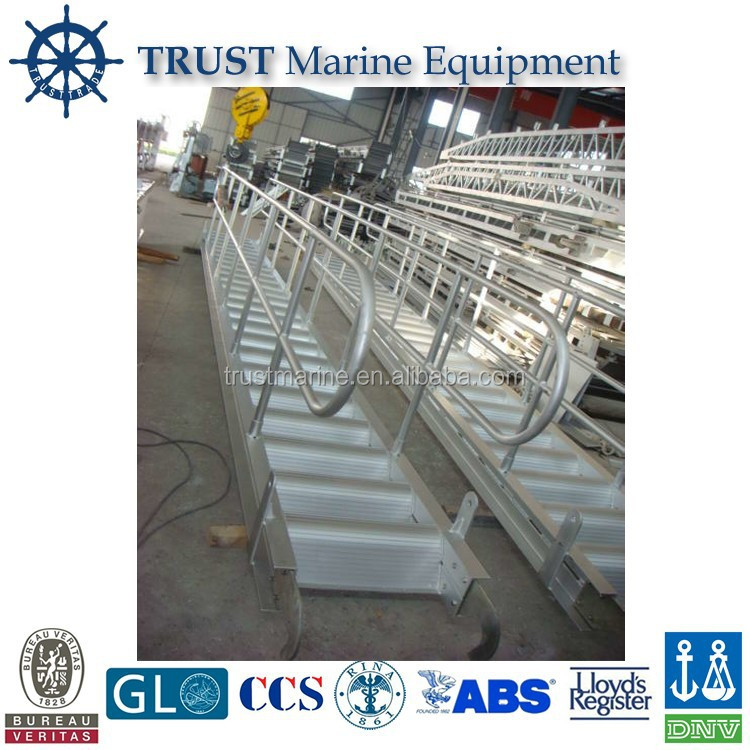 Marine/Boat/Ship/Cargo/Wharf Steel/Aluminium/Stainless Steel Vertical/Inclined/Rope/Gangway Ladders