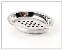 stainless steel Oval Soap Case