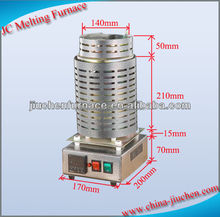 Small Scale 1-4 kg Metal Melting Furnace Gold Smelting Equipment
