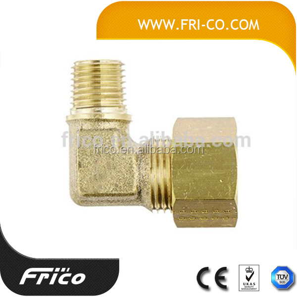 High quality male female brass elbow,brass faucet elbow