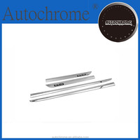 Chrome trim strips, chrome side door moulding trim stainless steel Type A for Toyota Rav4 2013 Up