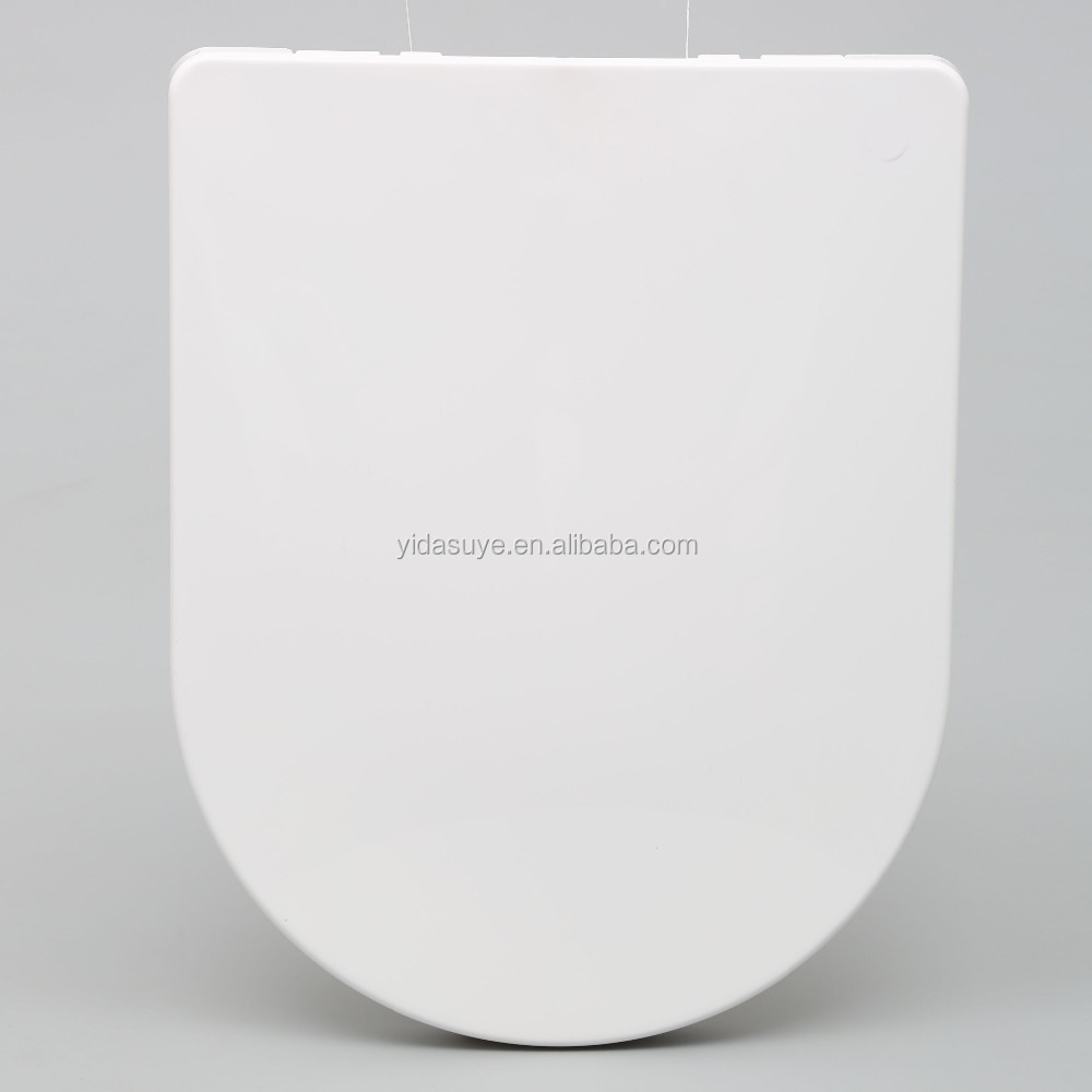 Wc toilet pp material toilet seat cover with Soft Close hinges LPA-070