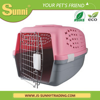 Customized plastic pet carrier