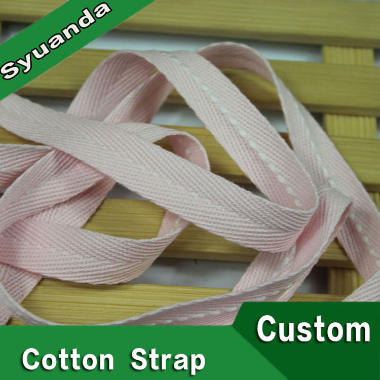 40mm Stone washed Cotton Tape for belt
