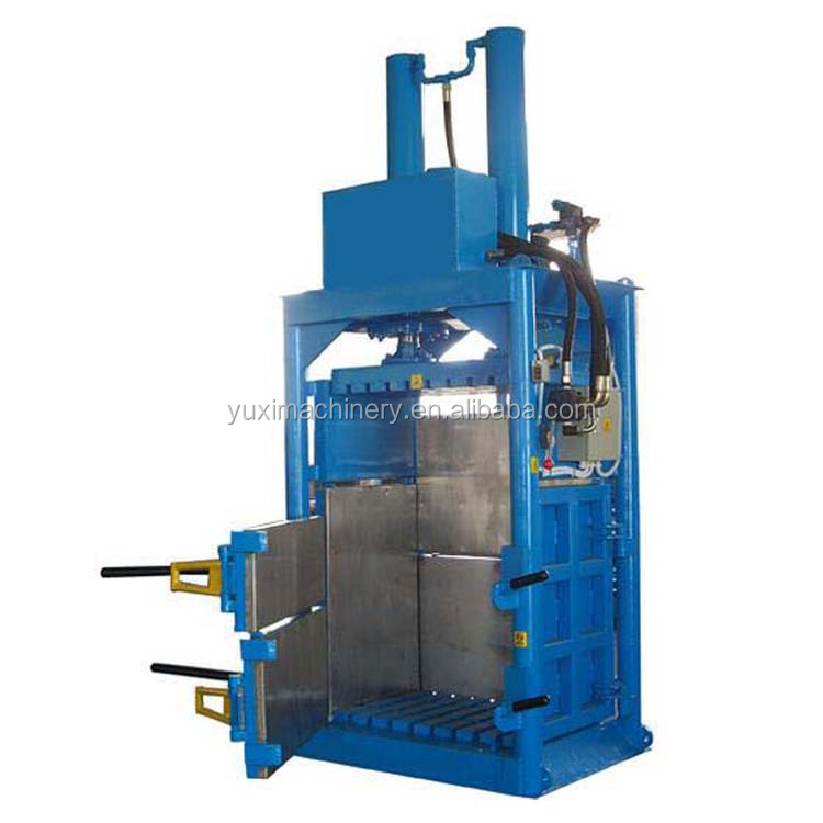 Automatic worm wheel paper guillotine hydraulic baler manufacturer