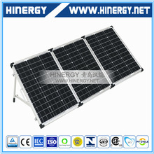 High efficiency low cost folding solar panel 60W 90Wp 120W 150Watt 180W 12V mono foldable panels