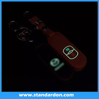 2016hot for Mazda 2 M3 M5 mazda 6 CX-5 CX-7 CX-9 Atenza Axela glowing leather car key chain key case key holder smart key cover