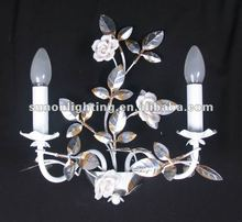 Russian style decorative wall sconces for flowers