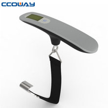 digital stainless model luggage weighing strap scale 50kg