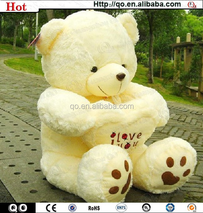 Top quality exquisite big teddy bear for holiday gift