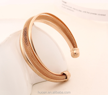 2015 Hot Selling The new bracelet Metal mesh weave bracelet for party
