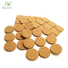 Furniture accessories adhesive cork pads for funiture