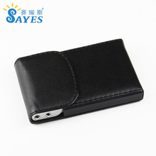 Malaysia business card holder black with notepad insert