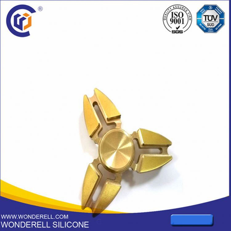ISO9001 Brass russian kfc fidget spinner fidget toy for kids