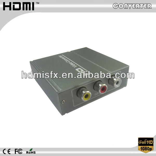 wholesale av to hdmi/converter box Which Can Convert Composite RCA Video(CVBS) to HDMI