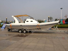 9.6m semi rigid inflatable yacht tender/rib boat/inflatable boat
