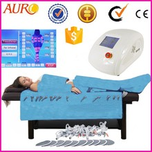 Au-6809 Factory heat therapy pressotherapy beauty equipment for body slimming