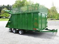 Custom built farm grass dump trailer w/