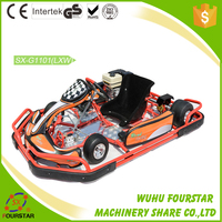 Go Kart Lifan Engine Parts single seat Racing Go Kart with Bumper and Cover SX-G1101