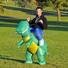Factory Price inflatable adult mens costume,inflatable dinosaur costume