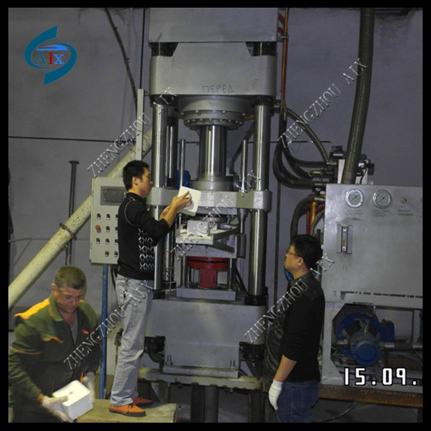 500 T Cow salt block licking machine can make 5 kg block