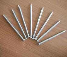 China gold supplier produces all sizes 45# steel white concrete nails