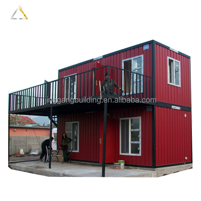 Steel Construction Opening Side Living Mobile Container House