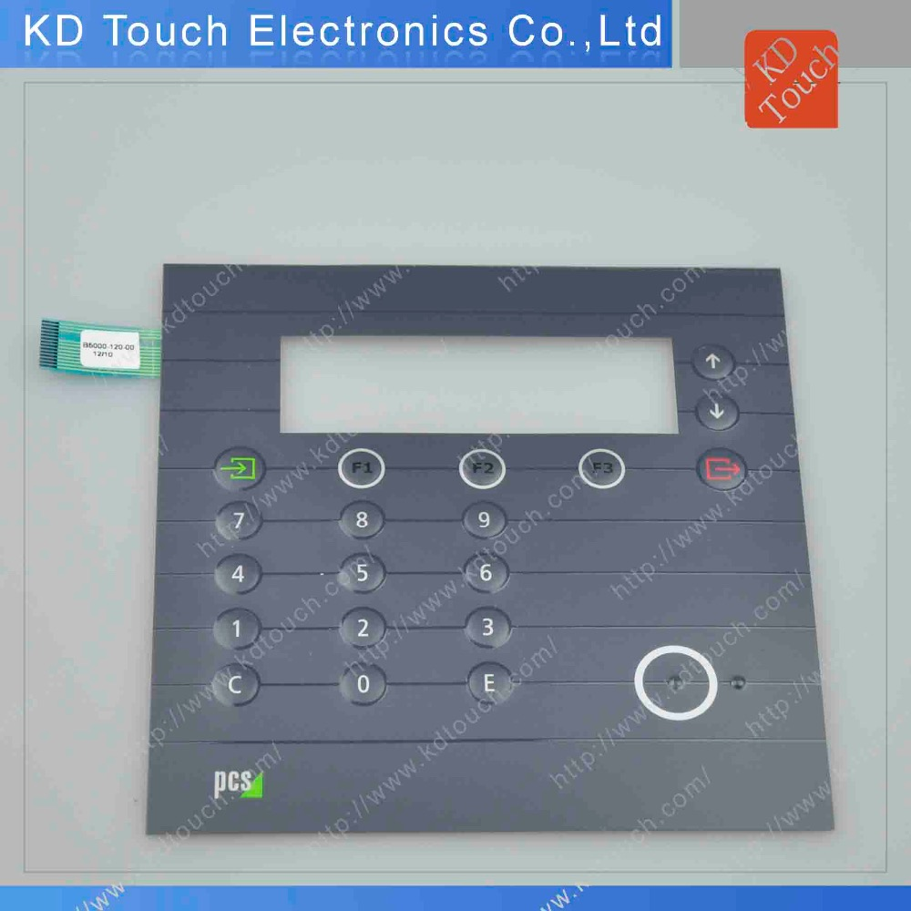textured waterproof embossing led polydome membrane switch